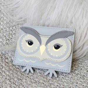Kate Spade Bright Star Owl Card Holder